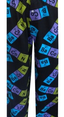Periodic-Table-Bacon-Lounge-Pants-for-men-Medium-0