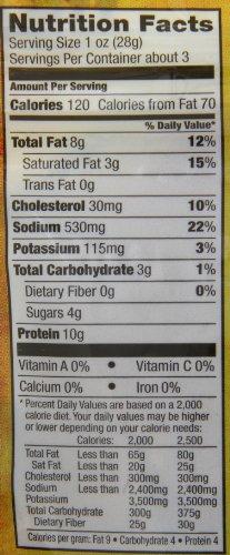 Slim Jim Nutrition Label - Pensandpieces