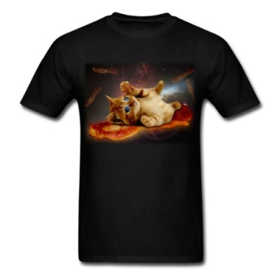 Spreadshirt-Mens-bacon-cat-in-T-Shirts-T-Shirt-0