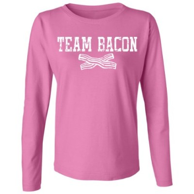 Tasty-Threads-Team-Bacon-Womens-Long-Sleeve-T-Shirt-Raspberry-3X-Large-0