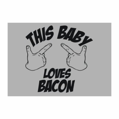 Teeburon-This-baby-loves-bacon-Food-Pack-of-4-Decal-0