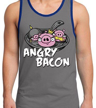 TshirtsXL-Mens-Angry-Bacon-Graphic-Tank-Top-Medium-Grey-0