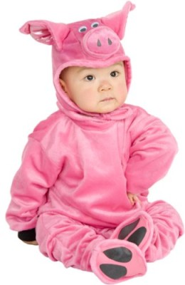 Baby-Infant-Pig-Halloween-Costume-Sz6-12-Months-0