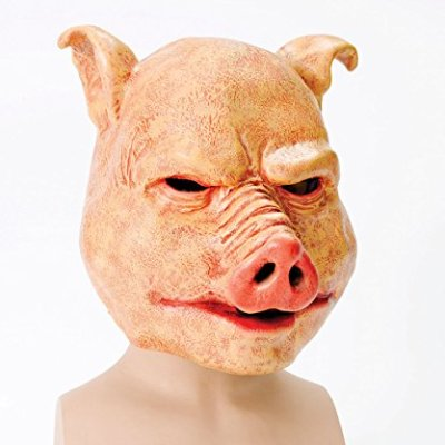 Bristol-Novelty-Orange-Horror-Pig-Latex-Masks-Mens-One-Size-0