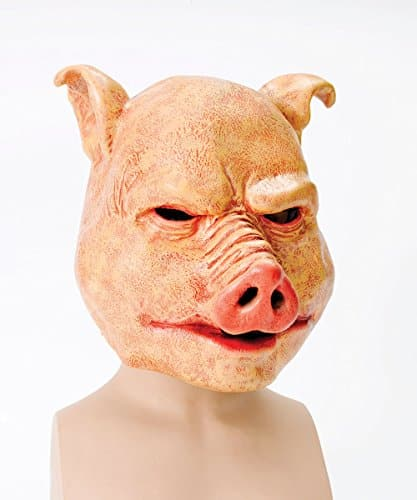 Horror Pig Overhead Animal Mask - Royal Bacon Society