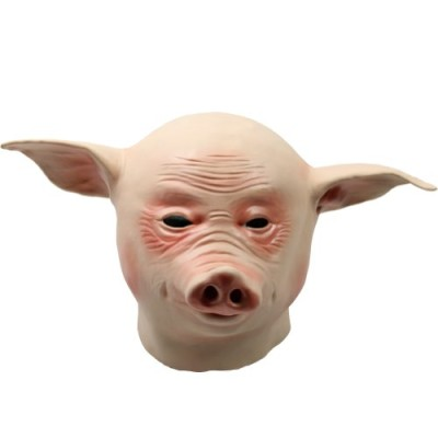 Estone-New-Horse-Unicorn-Animal-Head-Mask-Creepy-Halloween-Costume-Theater-Prop-Novelty-Pig-0
