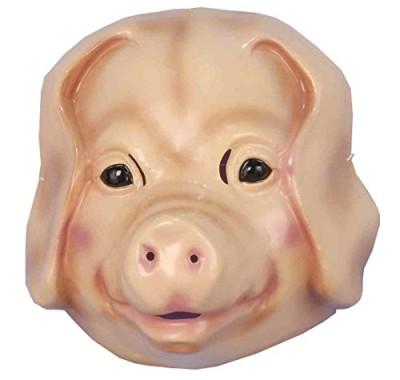 Forum-Novelties-Childs-Plastic-Animal-Mask-Pig-0