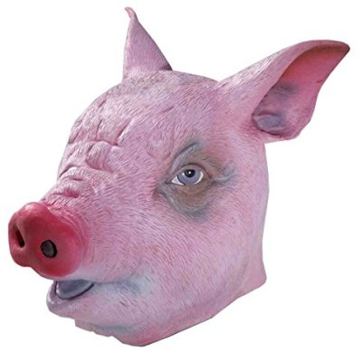 Creepy Pig Masks