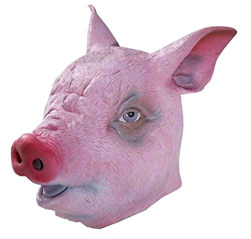 Creepy Pig Masks