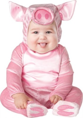 InCharacter-Unisex-baby-Infant-Piggy-Costume-Pink-Medium-0
