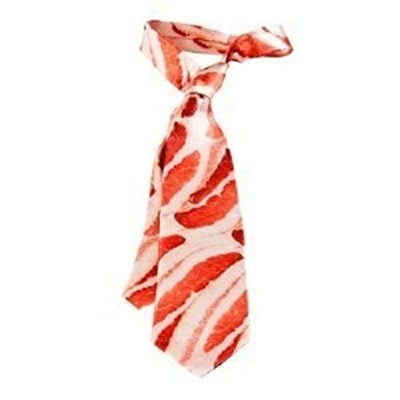 Mens-Bacon-Meat-Tie-Necktie-Novelty-Gag-Gift-54-Inches-0