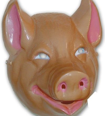 Pig-Mask-Plastic-Childs-0