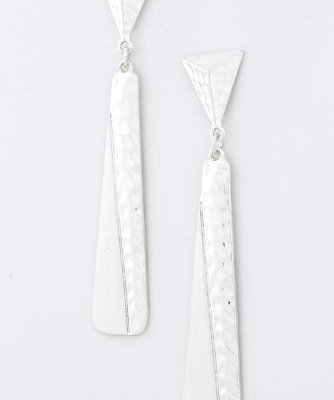 TRENDY-FASHION-METAL-BAR-DANGLE-EARRINGS-BY-FASHION-DESTINATION-Silver-0