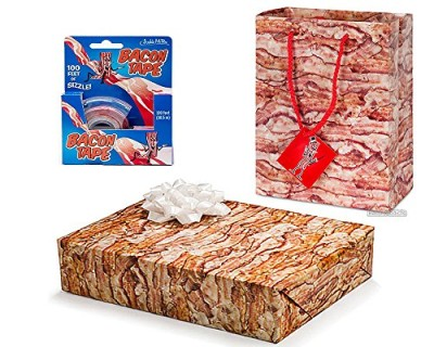 Bacon-Gift-Wrapping-Kit-3pc-Set-Bacon-Gift-Wrap-Paper-Bacon-Tape-Bacon-Gift-Bag-with-Card-0