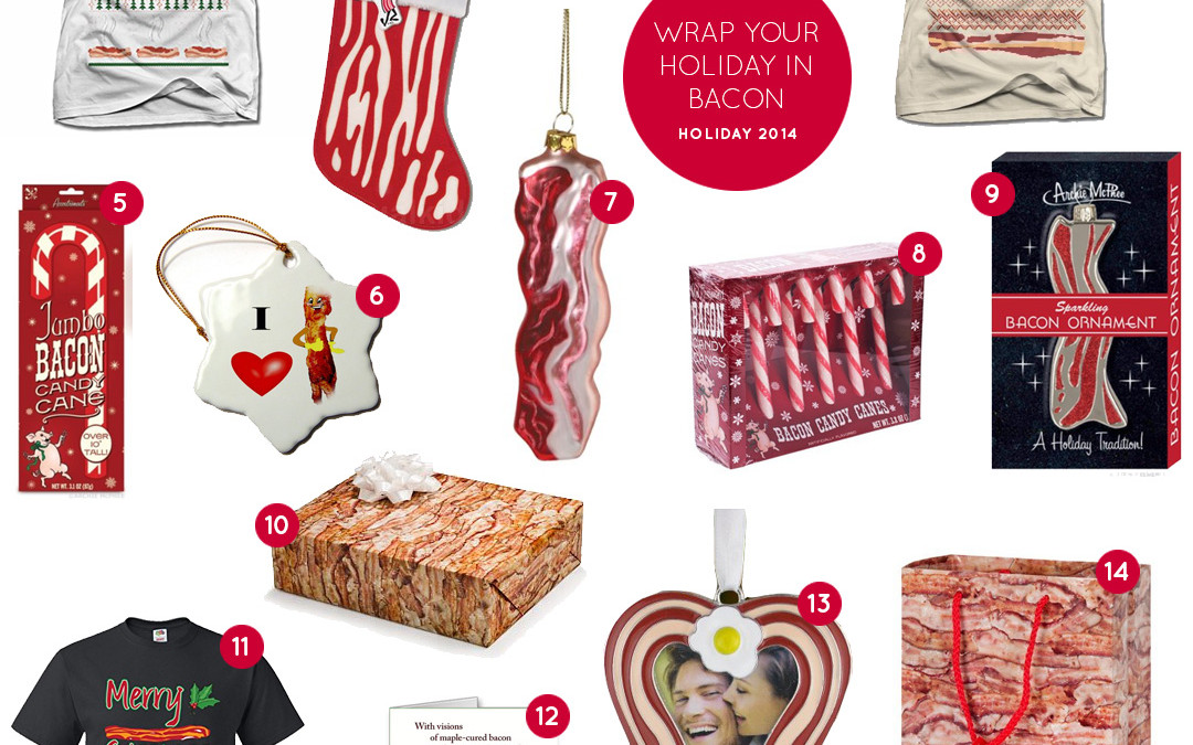 Wrap Your Holiday in Bacon – Bacon Holiday Gifts