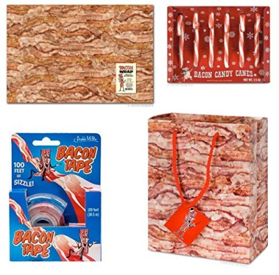 Bacon-Lovers-Gift-Wrapping-Set-Bacon-Wrapping-Paper-Bacon-Gift-Bag-Bacon-Tape-and-Bacon-Candy-Canes-0