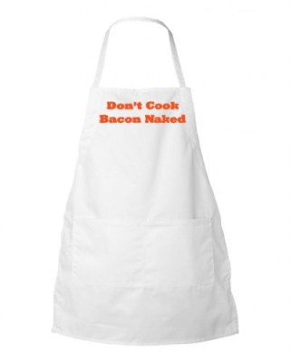 Brass-Pepper-Dont-Cook-Bacon-Naked-Adjustable-Neck-Loop-Two-Pocket-Apron-White-0