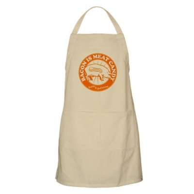 CafePress-Bacon-Is-Meat-Candy-Apron-Standard-0