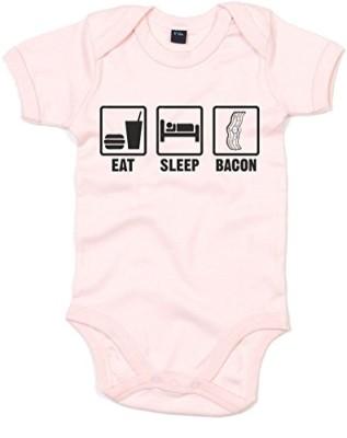 Eat-Sleep-Bacon-Printed-Baby-Grow-Powder-PinkBlack-3-6-Months-0