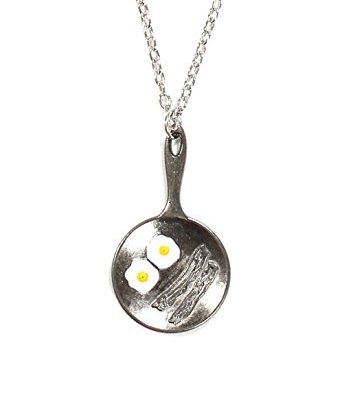 Eggs-and-Bacon-Necklace-Breakfast-Food-Frying-Pan-Pendant-NO60-Silver-tone-Fashion-Jewelry-0