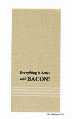 Everything-Is-Better-With-Bacon-Dishtowel-Black-Embroidered-Sentiments-Tan-Cream-Stripe-Country-Contemporary-Home-Dcor-Set-of-6-0