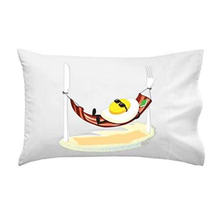 Good-Morning-Funny-Egg-Sunny-Side-up-Relaxing-in-Bacon-Hammock-Pillow-Case-Single-Pillowcase-0