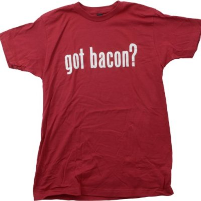 Got-Bacon-Funny-Breakfast-Pork-BBQ-Lover-Novelty-Unisex-T-shirt-Large-0