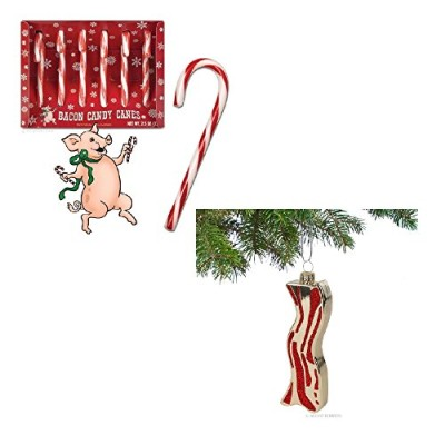 Holiday-Bacon-Bundle-Includes-one-box-of-Bacon-Candy-Canes-and-one-Bacon-Ornament-0