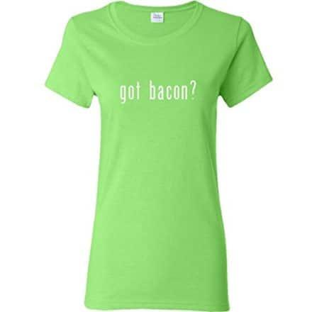 Inktastic-Got-Bacon-Womens-T-Shirt-Small-Key-Lime-0
