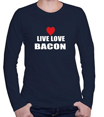 LIVE-LOVE-BACON-Womens-Long-Sleeve-Shirt-Shirt-Top-0