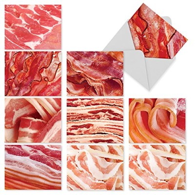MAKIN-BACON-10-Assorted-Thank-You-Note-Cards-wMatching-Envelopes-0
