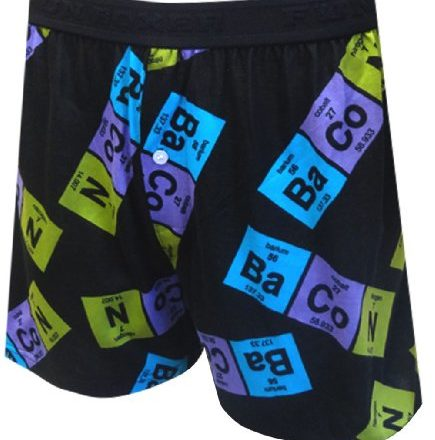 Periodic-Table-Bacon-Boxer-Shorts-for-men-Medium-0
