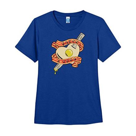 ShirtWoot-Womens-Bacon-and-Eggs-T-Shirt-Royal-Blue-Large-0