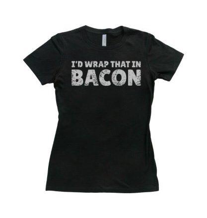 T-Shirtscom-Womens-Id-Wrap-that-in-Bacon-T-Shirt-Black-M-0