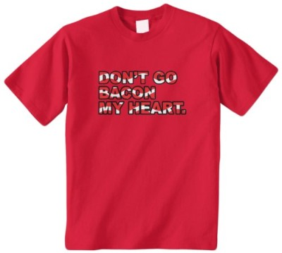 Threadrock-Big-Girls-Dont-Go-Bacon-My-Heart-Youth-T-Shirt-M-Red-0