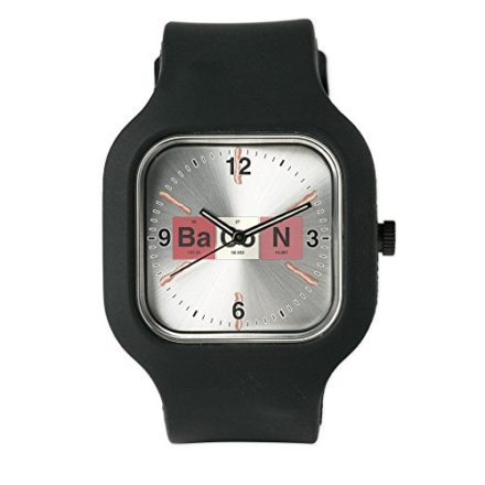 Black-Fashion-Sport-Watch-Bacon-Periodic-Table-of-Elements-0
