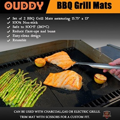 Ouddy-BBQ-Grill-Mat-Barbecue-Grill-Mat-Set-of-2-0