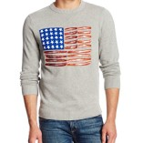 Alex-Stevens-Mens-Red-White-and-Bacon-Flag-Crew-Neck-0