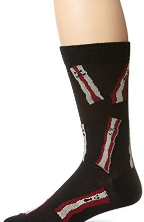 KBell-Black-Label-Mens-Bring-Home-The-Bacon-Crew-Sock-0