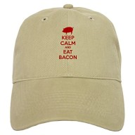 CafePress-Keep-calm-and-eat-bacon-Cap-0