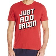 Life-is-good-Mens-Sleep-Just-Add-Bacon-Tee-0
