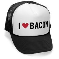 Megashirtz-I-Heart-Bacon-Vintage-Style-Trucker-Hat-Retro-Mesh-Cap-0