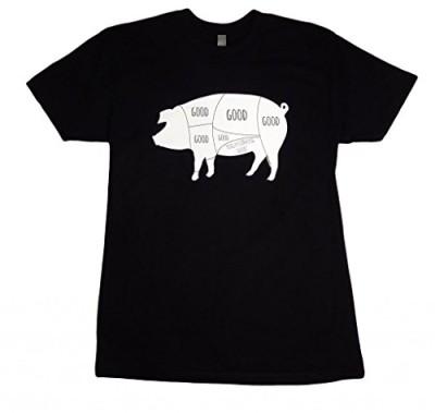 Panoware-Mens-Really-Good-Pig-Bacon-Funny-T-Shirt-0