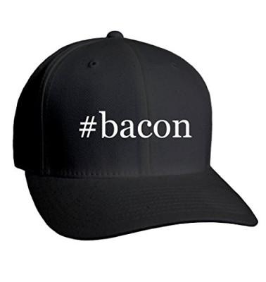 bacon-Hashtag-Adult-Mens-Hat-Baseball-Cap-0