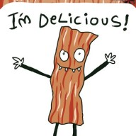 Dr-Krinkles-Im-Delicious-Bacon-Sticker-Decal-0