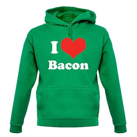 Dressdown-I-Love-Bacon-Unisex-Hoodie-Hooded-Top-9-Colors-0