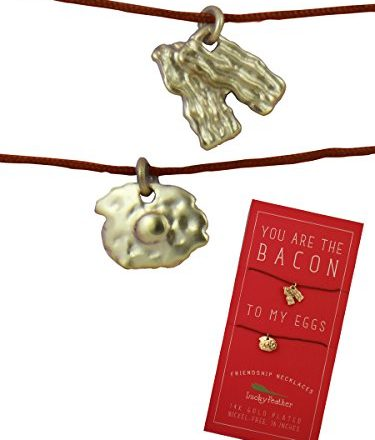 Lucky-Feather-Besties-Are-Forever-Bacon-Eggs-Linen-Cord-2-Necklace-Set-0