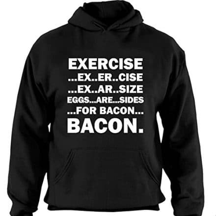 Mens-Exercise-Eggs-Are-Sides-For-Bacon-Casual-Hoodie-0