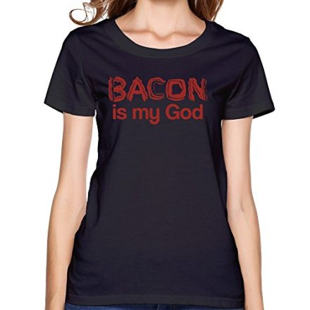 Womens-BACON-IS-MY-GOD-T-shirt-0