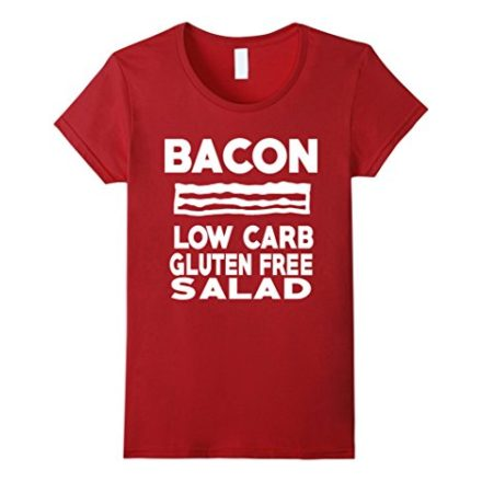 Funny-Bacon-T-shirt-Humorous-Gym-Diet-ironic-Fitness-Tee-0